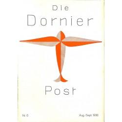 8506 DIE DORNIER-POST No.  6-1936 August/September