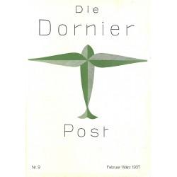 8509 DIE DORNIER-POST No.  9-1937 Februar/März