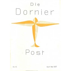 8510 DIE DORNIER-POST No.  10-1937 April/Mai