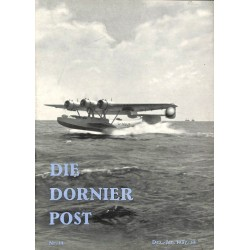 8513 DIE DORNIER-POST No.  14-1937/38 Dezember/Januar
