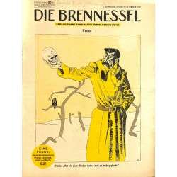 8457 DIE BRENNESSEL No.  7-1937 16.Februar