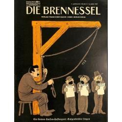 8460 DIE BRENNESSEL No.  11-1937 16.März