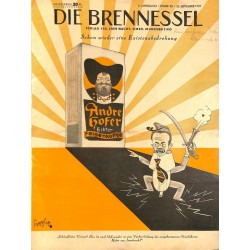 8472	 DIE BRENNESSEL	 No. 	 38-1923 20.September