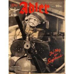 0734 DER ADLER -No.20-1941 vintage German Luftwaffe Magazine Air Force WW2 WWII