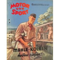 8498 MOTOR UND SPORT No. 37-1941 28.Dezember Ausgabe A