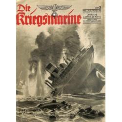 9722 DIE KRIEGSMARINE  No.  3-1943