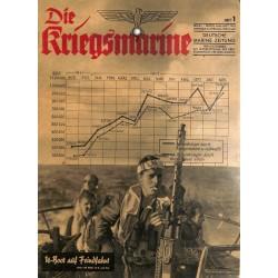9725 DIE KRIEGSMARINE  No.  1-1943
