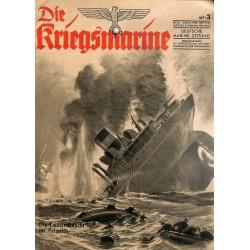 9727 DIE KRIEGSMARINE  No.  3-1943