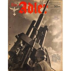 0780 DER ADLER -No.24-1941 vintage German Luftwaffe Magazine Air Force WW2 WWII