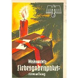 5242 WHW sticker Weihnachts-Liebesgabenpaket-SammlungWinterhilfswerk Third Reich collection