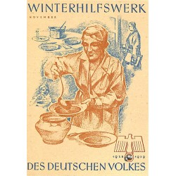 5248	 WHW sticker	 1938/1939 November soup	Winterhilfswerk Third Reich collection