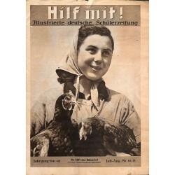 8735 Hilf mit ! - No. 10/11-1941/42  Juli/ August-1942