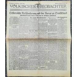 10754 Kampfzeit VÖLKISCHER BEOBACHTER No. 68 19.Juni 1925 Oesterreichs Verschacherung und der Verrat an Deutschland