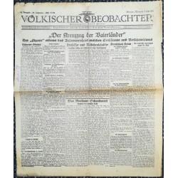 10768 Kampfzeit VÖLKISCHER BEOBACHTERNo. 84 8.Juli 1925 Der Kreuzzug der Vaterländer