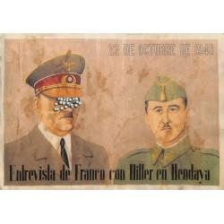 10497 Poster Division Azul Hitler Franco 1940