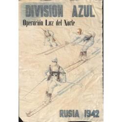 10502 Poster Division Azul Operacion Luz del Norte  Russia 1942
