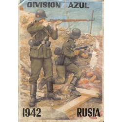 10507	 Poster Division Azul	 fighting soldiers Russia 1942