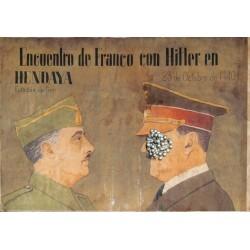 10514 Poster Division Azul Franco Hitler 1940