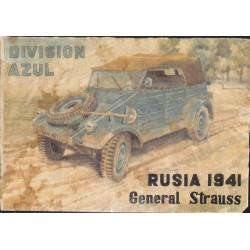 10516	 Poster Division Azul	 General Strauss Russia 1941 car