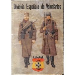 10543 Poster Division  Espanola de Voluntarios soldiers