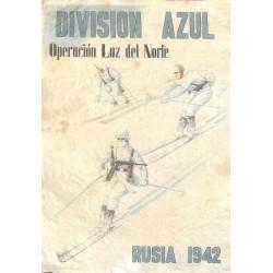 10563 Poster Division Azul Operacion Luz del Norte  Russia 1942