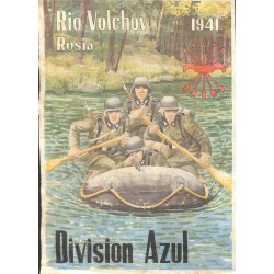10569	 Poster Division Azul	 Russia river soldiers