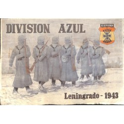 10570	 Poster Division Azul	 soldiers Russia Leningrad 1943 winter