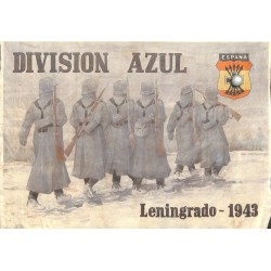 10571	 Poster Division Azul	 soldiers Russia Leningrad 1943 winter