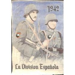10575 Poster Division Azul La Division Espanola  1942 soldier