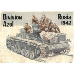 10582	 Poster Division Azul	 Russia 1942 tank soldiers
