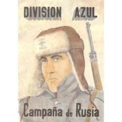 10584 Poster Division Azul Campagna de Rusia Winter Russia soldier