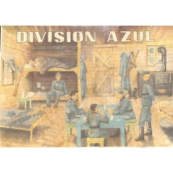 10589	 Poster Division Azul	 soldiers cabin rest