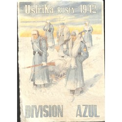 10591	 Poster Division Azul	 Ustrika Russia 1942 winter soldiers