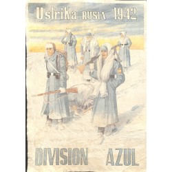 10592	 Poster Division Azul	 Ustrika Russia 1942 winter soldiers