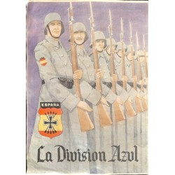 10594	 Poster Division Azul	 soldiers parade guard