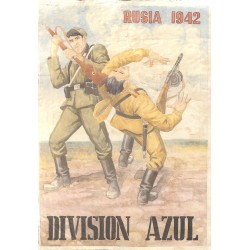 10600	 Poster Division Azul	 Russia fighting soldiers