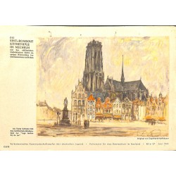 10355	 Third Reich print 	 Metz/France, painting by Reimesch