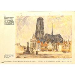 10355 Third Reich print  Metz/France, painting by Reimesch