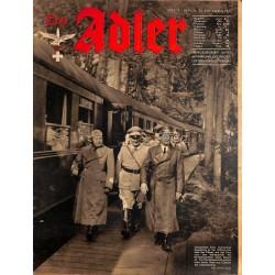 0812 DER ADLER -No.19-1941 Europe edition vintage German Luftwaffe Magazine Air Force WW2 WWII
