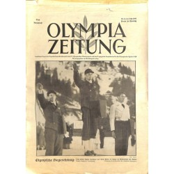 9746 Third Reich Olympic Winter Games OLYMPIA ZEITUNG No. 13-1936 17.Februar The Ending ceremony
