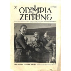 9743 Third Reich Olympic Winter Games OLYMPIA ZEITUNG No.  6-1936 10.Februar5th day of the Games