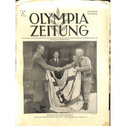 9742	 Third Reich Olympic Winter Games	 OLYMPIA ZEITUNG	 No. 	 2-1936 6.Februar	 1st day of the Games