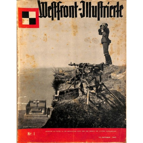 8411	 WESTFRONT-ILLUSTRIERTE	 No. 1-1940 (10.Oktober 1940) FIRST ISSUE
