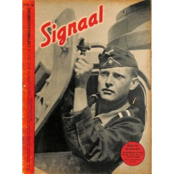 0953	-No.	 H	18-1942	 SIGNAAL / SIGNAL Holland Dutch - illustrated german magazine	tanks, soldiers