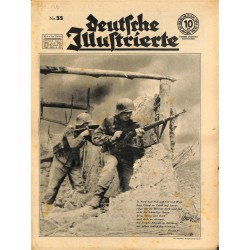 12730	 LAST ISSUE - DEUTSCHE ILLUSTRIERTE	 No. 35-1944 29.August