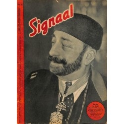 0963	-No.	 H	6-1943	 SIGNAAL / SIGNAL Holland Dutch - illustrated german magazine	Russia Stalingrad, battles