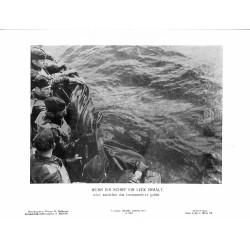 13804 WWII press photo print Wenn ein Schiff ein Leck erhält Q 0314 Photo Hoffmann