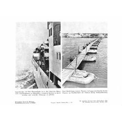 13808 WWII press photo print Speerbrecher, Brücke Pioniere Photo Hoffmann