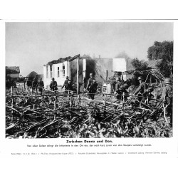 13815 WWII press photo print Zwischen Don und Donez Russia, 1942, Serie 1522a Pressefoto Aktueller Bilderdienst