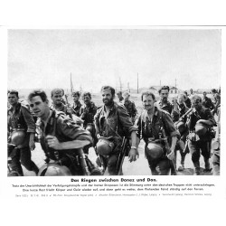 13816 WWII press photo print Das Ringen zwischen Donez und Don Russia 1942, Serie 1522c Pressefoto Aktueller Bilderdienst
